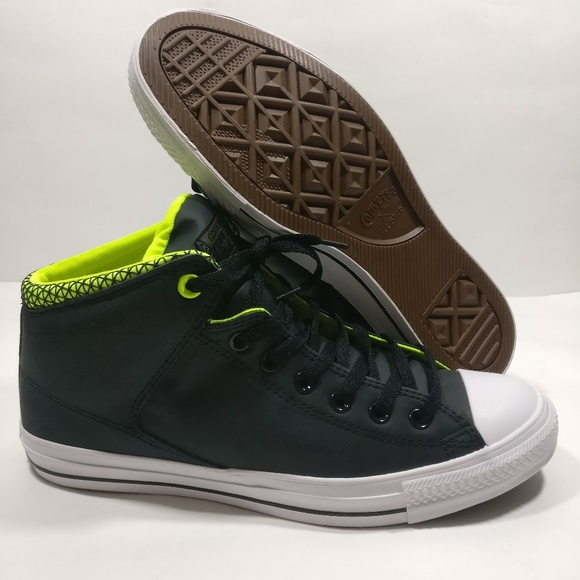 Converse Other - New Converse CTAS HIGH STREET BLACK Shoes e77b94c4d